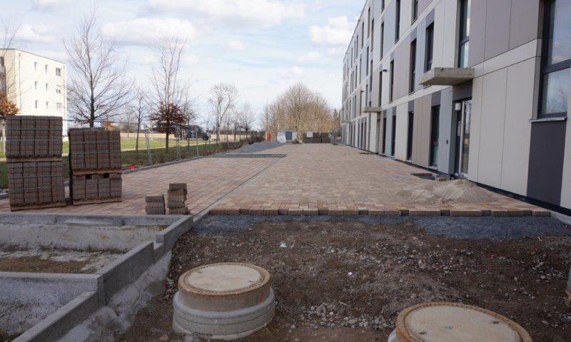 BV TFH Schönefeld: Erschließung der Außenanlage