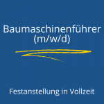 Baumaschinenführer (w/m/d)