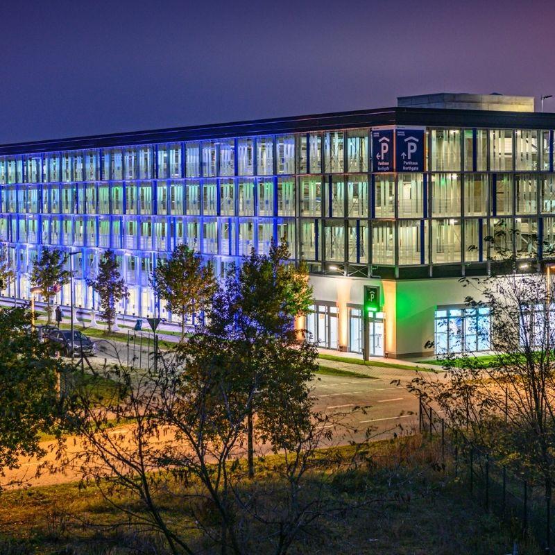 Eröffnung Baustelle Parkhaus Flughafen BER
