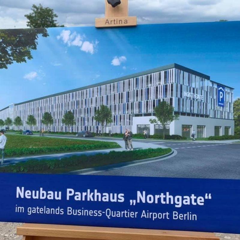 Start Bauprojekt Flughafen BER - Pünktlich
